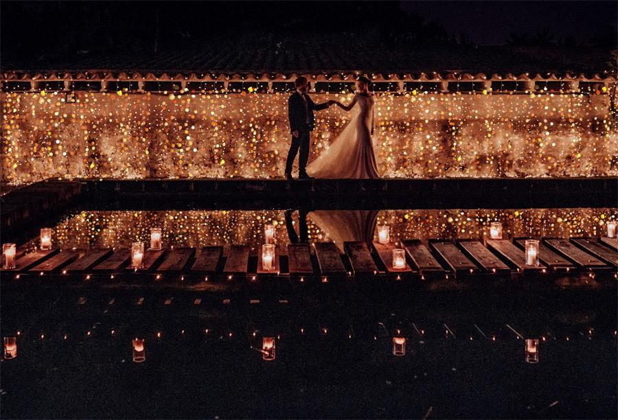UNA BODA DE INVIERNO EN MALLORCA iluminacion-boda