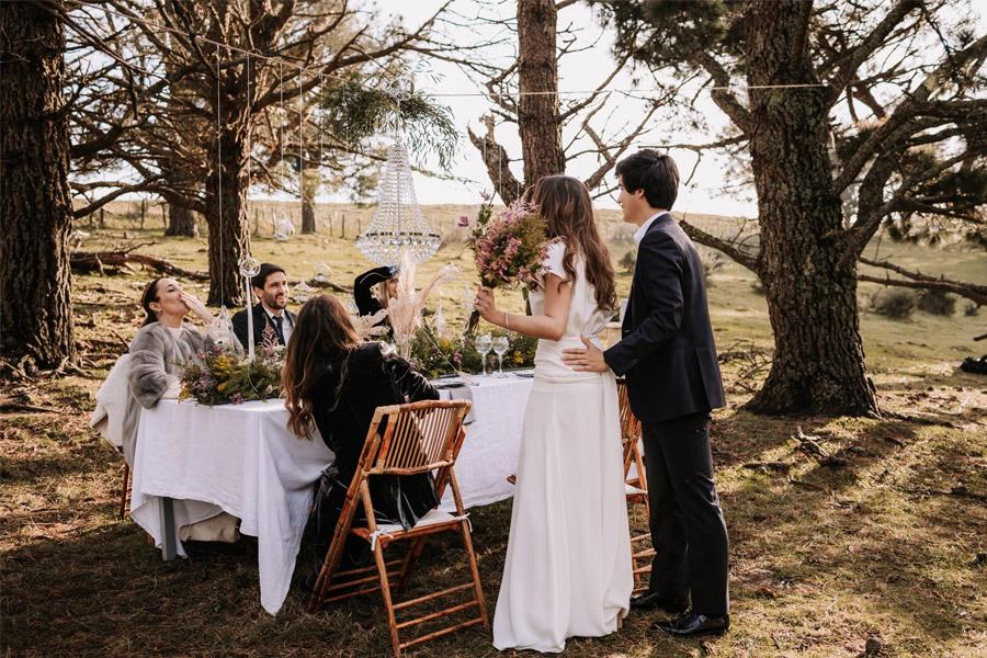UNA BODA ÍNTIMA EN EL MONTE VASCO invitados-boda