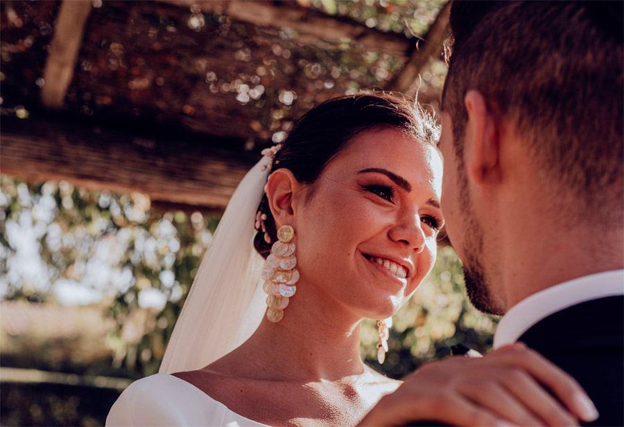 UNA BODA DE INVIERNO EN MALLORCA pendientes-novia