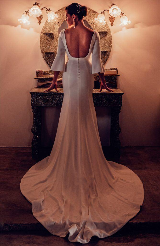 UNA BODA DE INVIERNO EN MALLORCA vestido-novia-668x1024