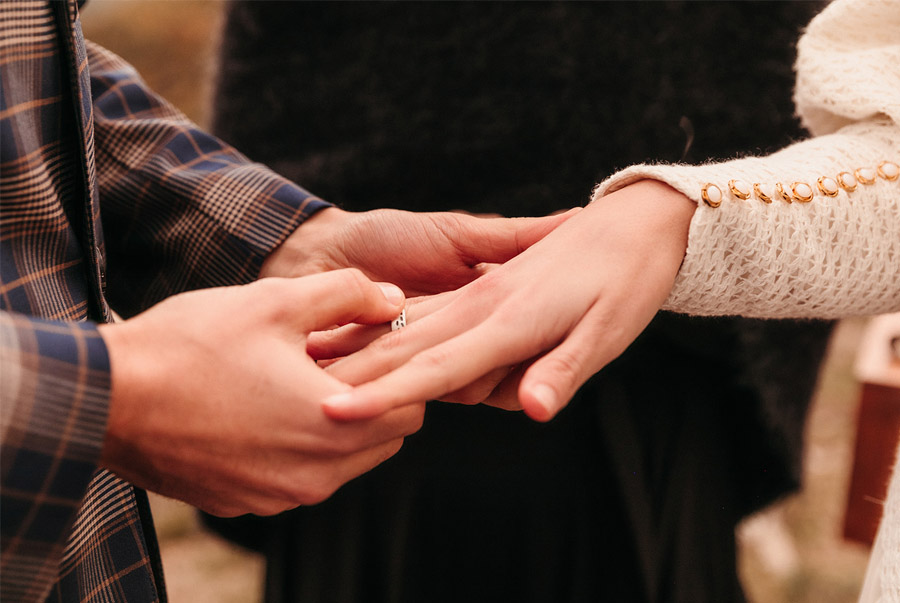 O NOSO CAMIÑO alianza-boda