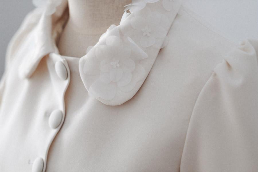 THE NEW BRIDE, NUEVA COLECCIÓN DE NOVIA DE ÁNGELA PEDREGAL cuello-novia-angela-pedregal