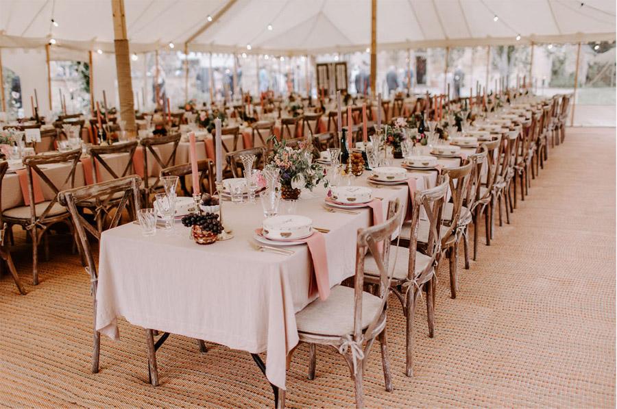 ZOE & JACOB: BODA EN LA CAMPIÑA INGLESA deco-mesa-boda-1