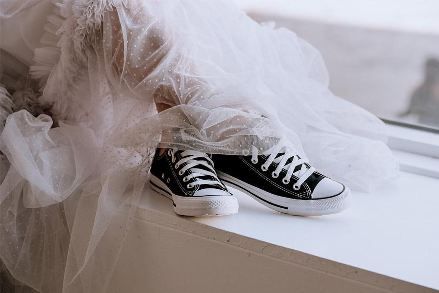CITY WEDDING novia-converse