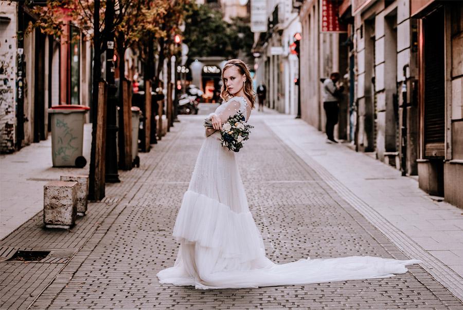 CITY WEDDING novia-urbana