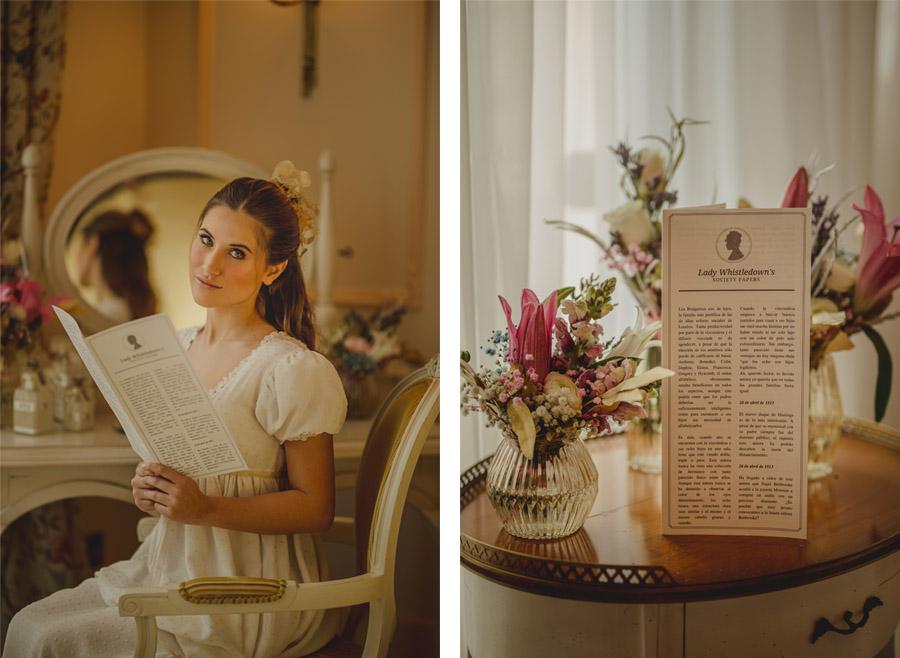 UN SUEÑO BRIDGERTON boda-bridgerton-novia