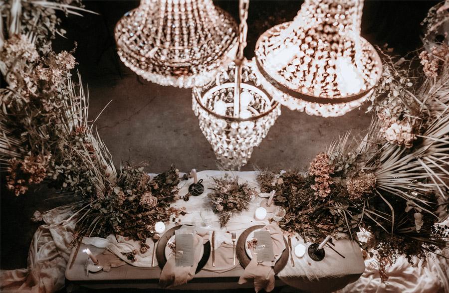 AYER lamparas-arana-boda
