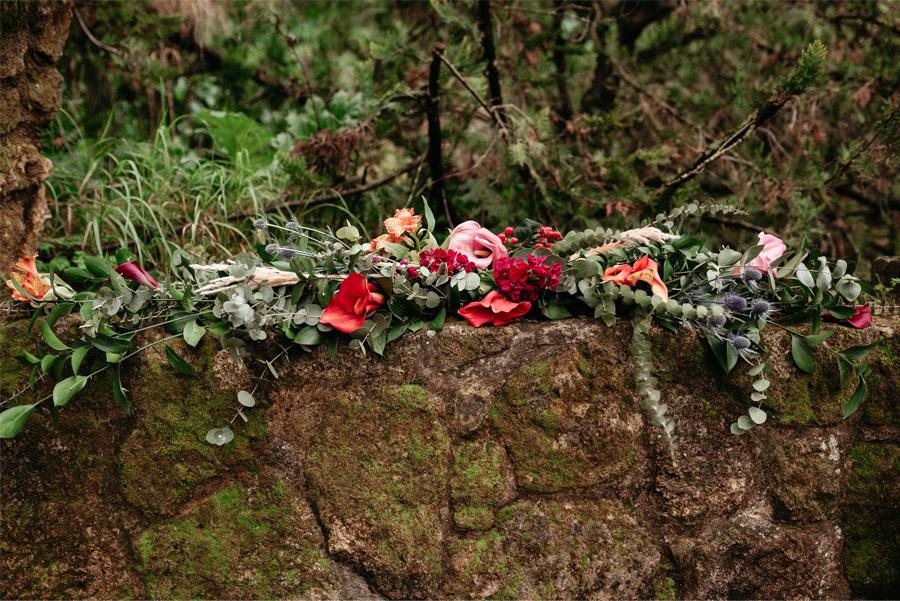 OMNIA VINCIT AMOR, EL AMOR TODO LO PUEDE flores-boda