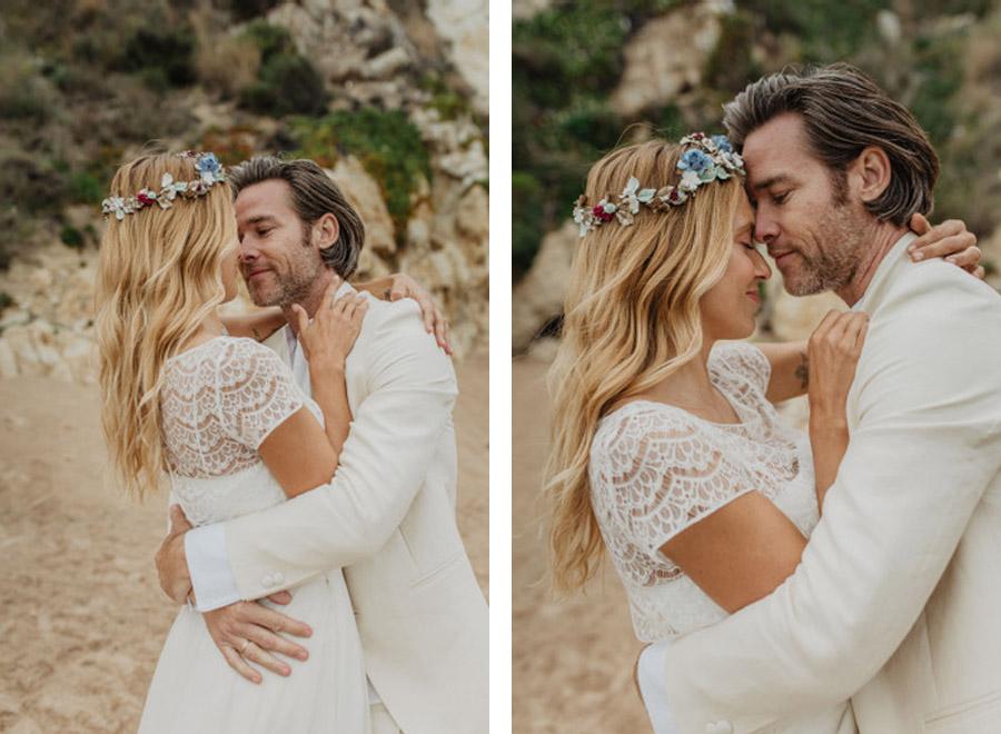 SALACIA, UNA SLOW WEDDING EN LA COSTA MEDITERRÁNEA novios-abrazo