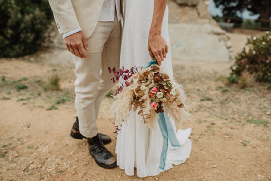 SALACIA, UNA SLOW WEDDING EN LA COSTA MEDITERRÁNEA ramo-novia-1