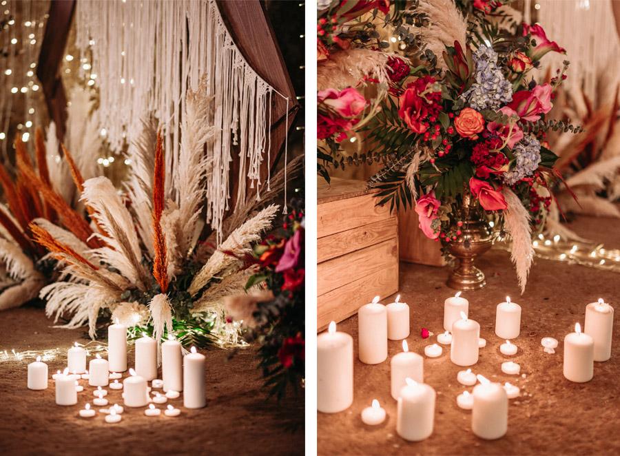 OMNIA VINCIT AMOR, EL AMOR TODO LO PUEDE velas-boda
