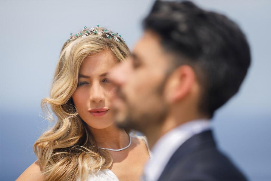 MARTINA Y ÁLVARO: GLAMOUR EN MALLORCA novia-chic