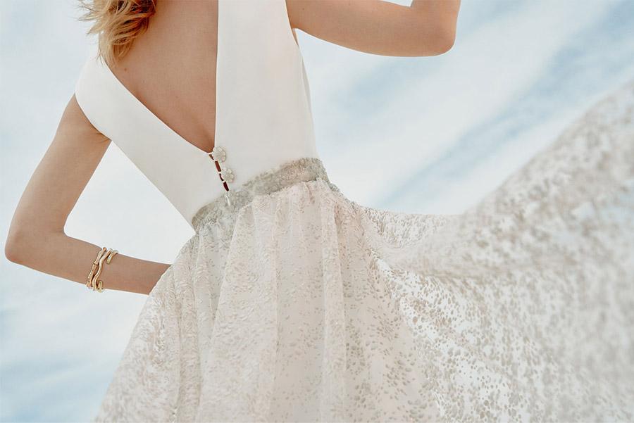 SKYFUL, NUEVA COLECCIÓN NUPCIAL DE BEBA'S vestido-novia-bebas