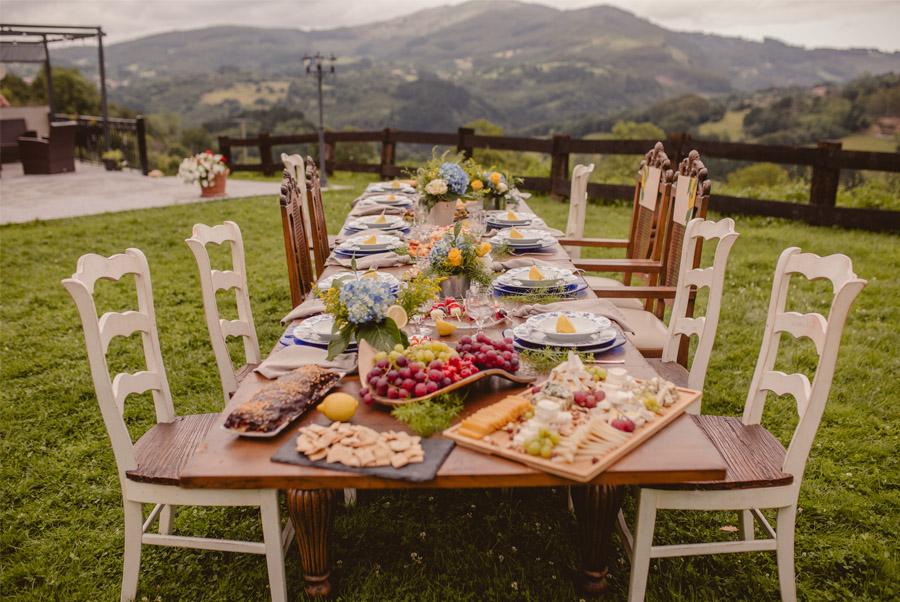 MIRACOLO, ESENCIA ITALIANA EN EL MONTE VASCO boda-mesa-rustica