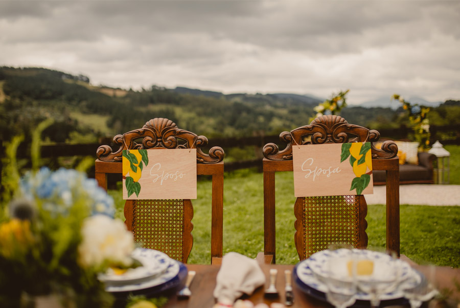 MIRACOLO, ESENCIA ITALIANA EN EL MONTE VASCO carteles-boda
