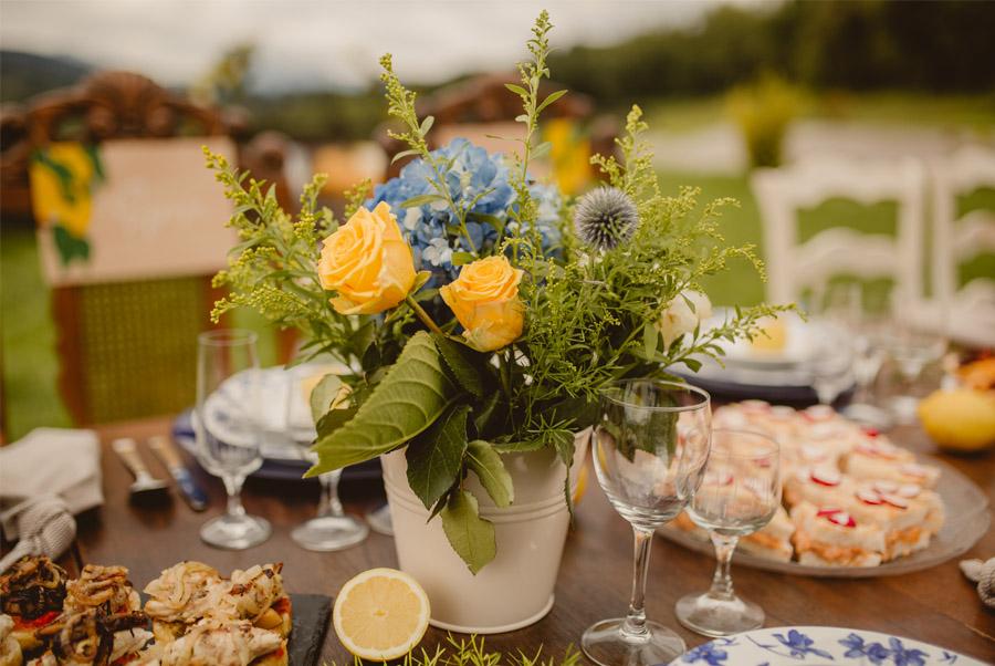 MIRACOLO, ESENCIA ITALIANA EN EL MONTE VASCO centro-mesa-boda