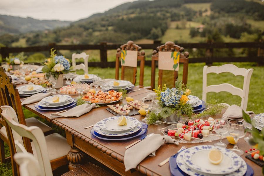 MIRACOLO, ESENCIA ITALIANA EN EL MONTE VASCO mesa-rustica-boda
