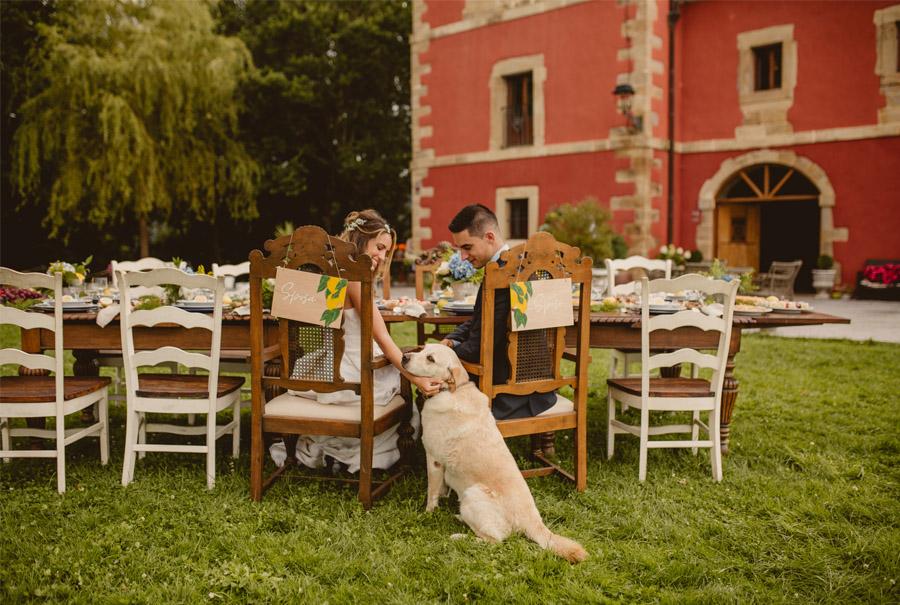 MIRACOLO, ESENCIA ITALIANA EN EL MONTE VASCO perro-boda