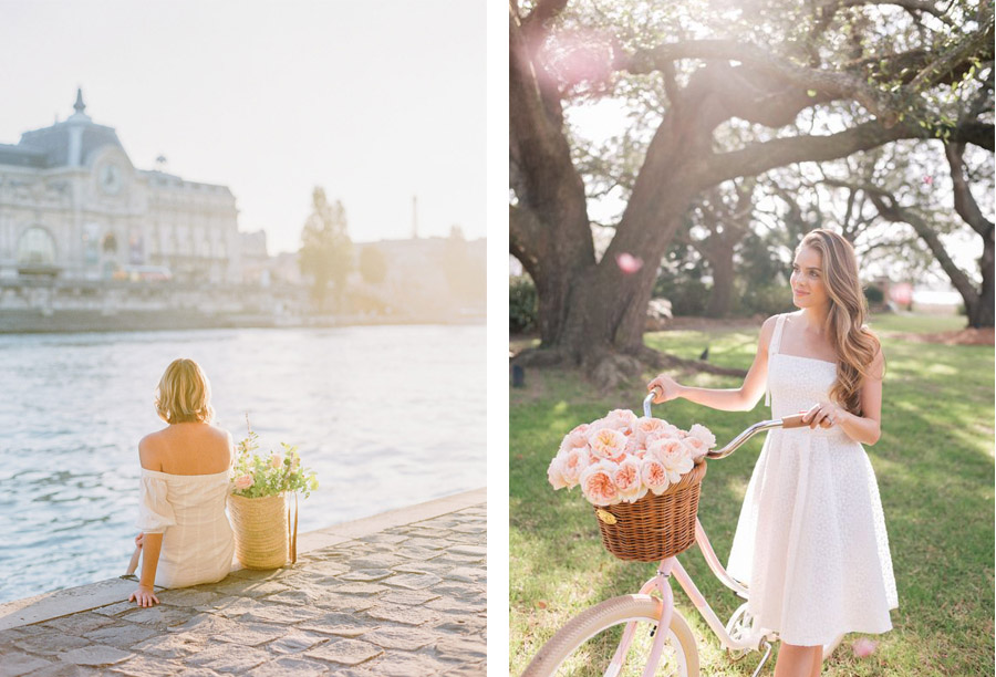 NOVIAS CON CESTOS DE FLORES novias-cesto-flores