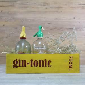 Caja de madera Gin Tonic