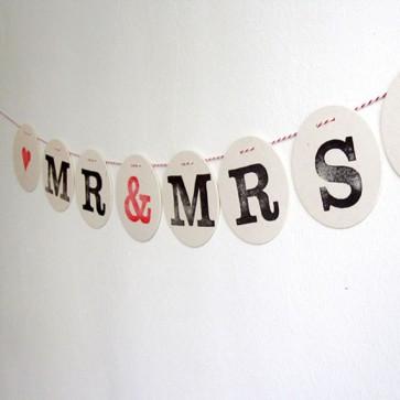 Guirnalda Mr&Mrs