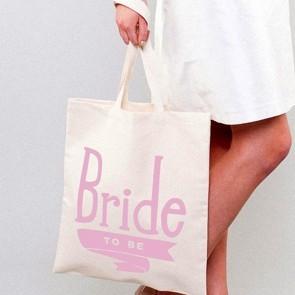 Bolsa tela novia