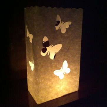 Bolsa de luz de mariposas grandes (10 ud.)