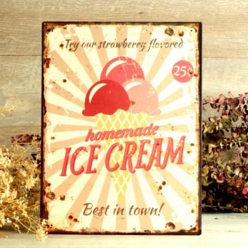 Cartel helados comprar