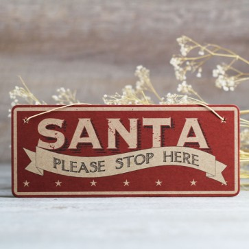 Cartel Please Santa Stop Here