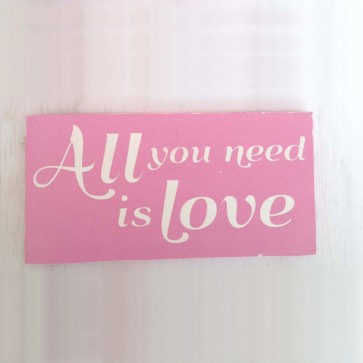 "Cartel ""All you need is love"""