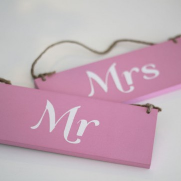 Carteles Mr & Mrs