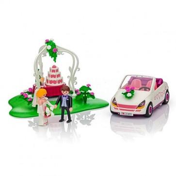 Coche de recién casados de Playmobil