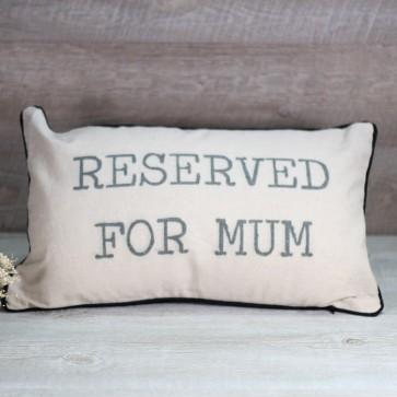 Cojín reservado mamá