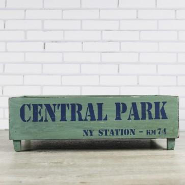 Caja de madera Central Park