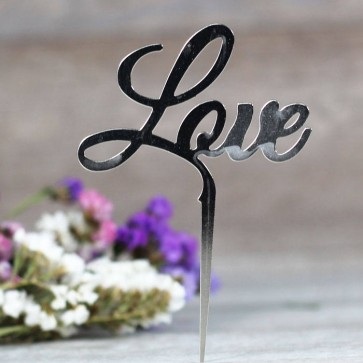 Comprar cake topper Love