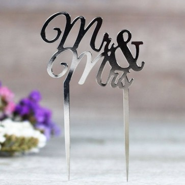 Comprar cake topper mr mrs