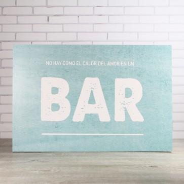 Carteles bar