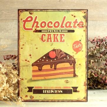Comprar cartel chocolate cake