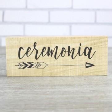 Flecha ceremonia boda