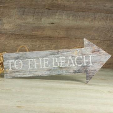 Flecha de madera to the beach