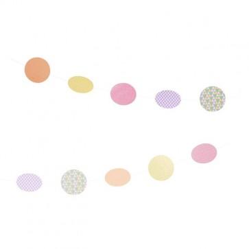 Comprar guirnalda círculos de papel