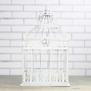 jaula de boda blanca comprar