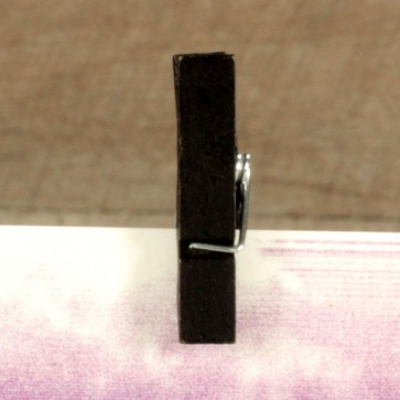 Comprar mini pinzas negras