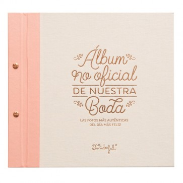 Mr Wonderful Álbum no oficial de nuestra boda