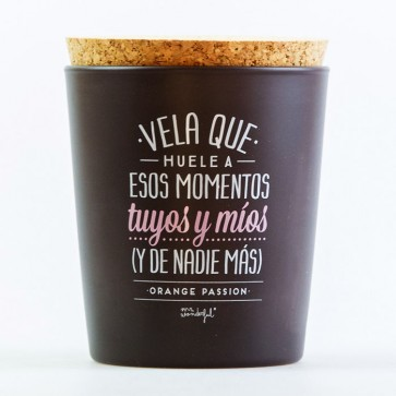 Comprar Mr Wonderful vela momentos tuyos y míos