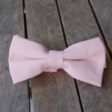 Pajarita rosa palo