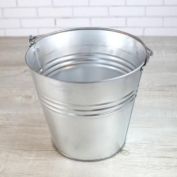 Barreño de zinc para bebidas