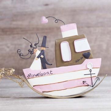 Figura novios barco