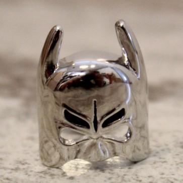 Gemelos máscara Batman plateados