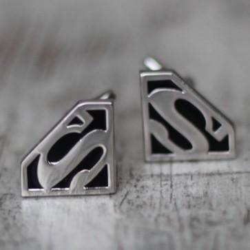 Gemelos Superman negro y plata
